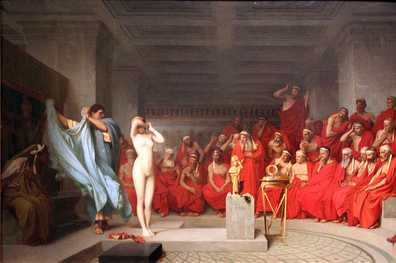 Los abogados en la antigua Grecia
