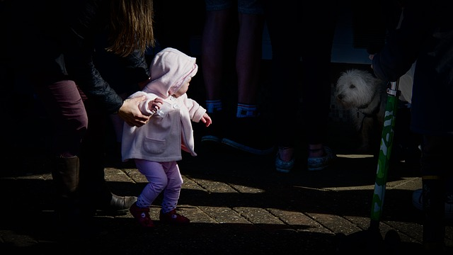 Bebés 0-2 años: sus primeros miedos