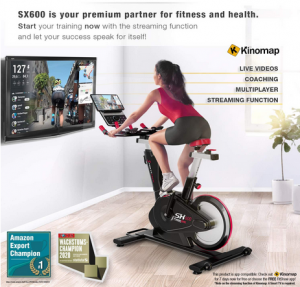 Sportstech Exercise Bike Indoor Cycling SX600
