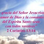 la gracia del Señor