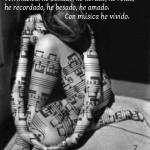 con música