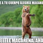 Dale alegría Macarena