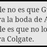 La Boda de la hija de Aznar