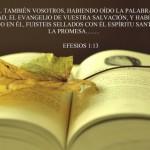 Sellados con el Espíritu Santo de la promesa