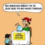Lula adivina y el niño