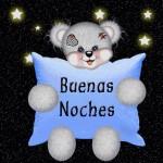 Buena noches Osito, que tengas sueños, suaves y cariñosos como el osito amoroso que te lo desea.