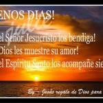 Buenos días, que el Señor los bendiga