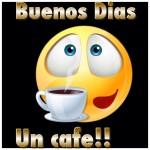 Buenos Días. Un café