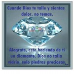 Dios solo talla piedras preciosas