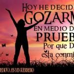 Porque Dios está conmigo