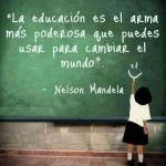 Nelson Mandela- Educación