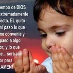 Oración, el tiempo de Dios