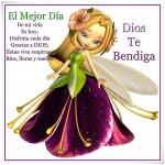 El Mejor Día de mi vida es Hoy. Disfruta cada día. Gracias Dios, estas viva, respiras, ries, lloras y sueñas. Dios Te Bendiga.