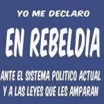 Yo me declaro en Rebeldia
