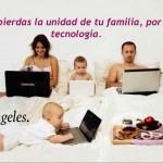 No pierdas la unidad de tu familia, por la tecnología.