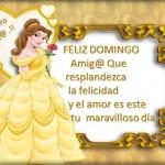 Feliz Domingo. Te quiero Amig@