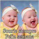 Sonríe siempre. Feliz semana