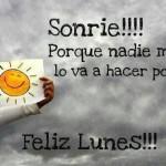 Feliz Lunes, Sonrie