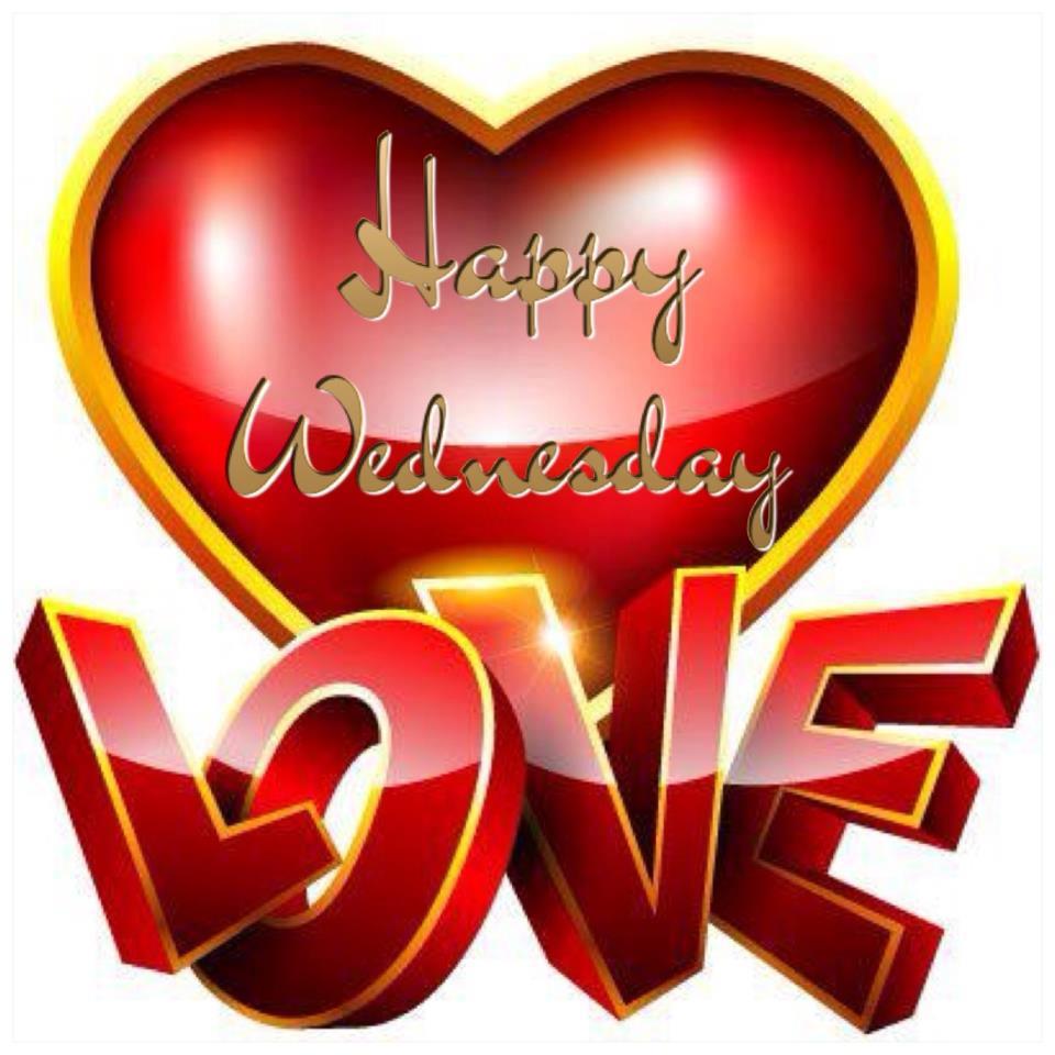 Happy Wednesday. Love