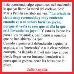 Julio Anguita-El nivel más bajo de un ser humano
