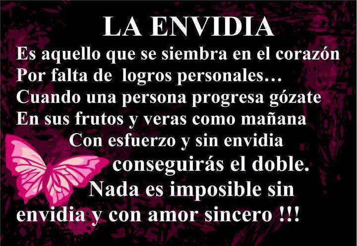 Sin Envidia Y Con Amor