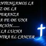 Una oración lucha contra el cáncer