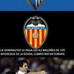 Málaga C.F. y Valencia C.F.