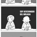 Soy aficionado del Málaga