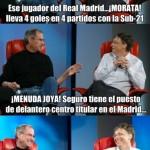 Ese jugador del Real Madrid...Morata