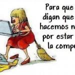 Mujer y Computadora