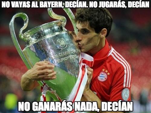 No vayas al Bayern decian. No jugarás, decían. No ganarás nada, decían.