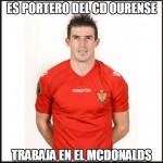 Es portero del CD Ourense