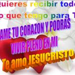 Te amo Jesucristo