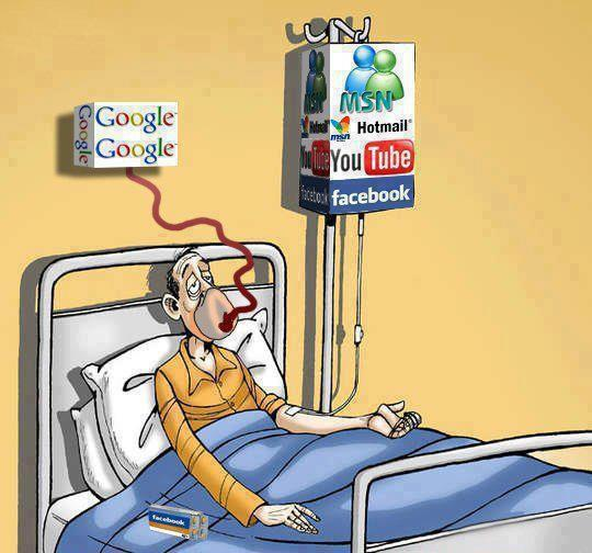 Enfermo en la UVI