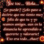 Toc Toc...Hola..Se puede.