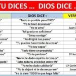 Tu dices, Dios dice
