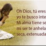 Sed de ti Señor