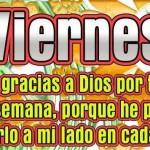 Viernes Doy gracias a Dios