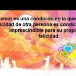 El amor es una condición...