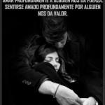 Amar profundamente a alguien