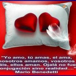 Yo amo, Tú amas, El ama...