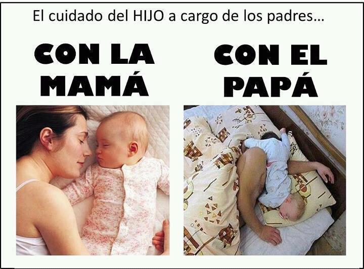 El cuidado del Hijo a cargo de los padres...
