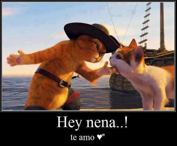 Hey nena...Te Amo