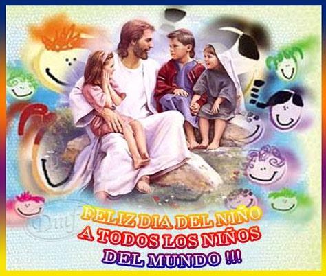 Feliz Día del Niño. A todos los niños del Mundo.