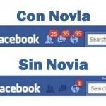 Facebook. Con Novia. Sin Novia