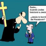 Padre...Cuando Judas traicionó a Jesús. ¿Jesús lo borró del Facebook?