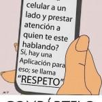 Aplicación llamada Respeto