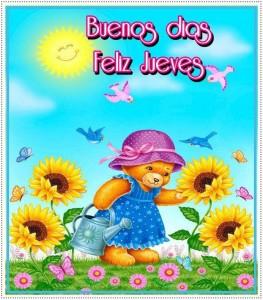 Buenos Días. Feliz Jueves