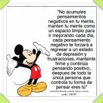 No acumules pensamientos Negativos