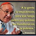 Frase del Papa Francisco